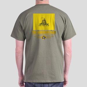 """""""Gadsden Flag"""" Dark T-Shirt"""
