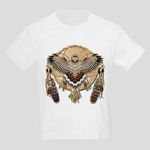 Red-Tail Hawk Dreamcatcher Kids Light T-Shirt