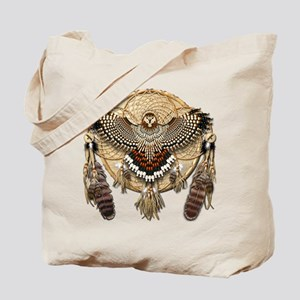Red-Tail Hawk Dreamcatcher Tote Bag