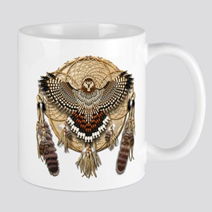 Red-Tail Hawk Dreamcatcher Mug