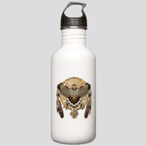 Red-Tail Hawk Dreamcatcher Stainless Water Bottle