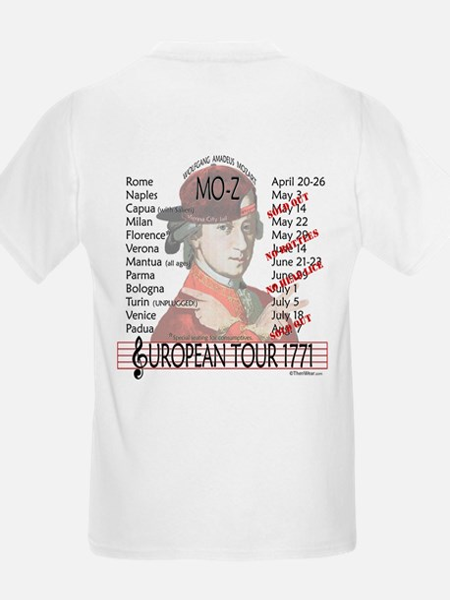 Mozart 'Mo-Z' Tour Kids T-Shirt