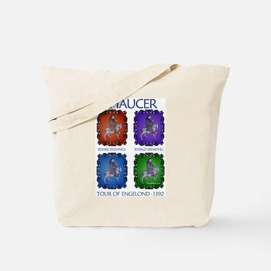 Chaucer 1392 England Tour Tote Bag