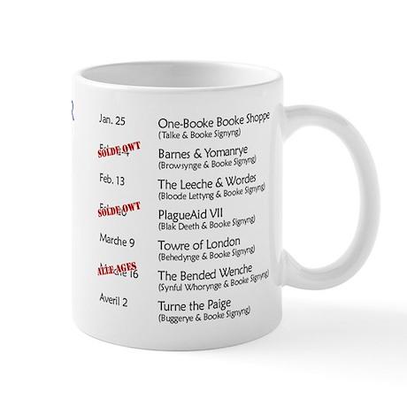 Chaucer 1392 England Tour Mug