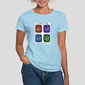Chaucer 1392 England Tour Women's Pink T-Shirt