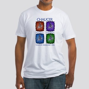 Chaucer 1392 England Tour Fitted T-Shirt
