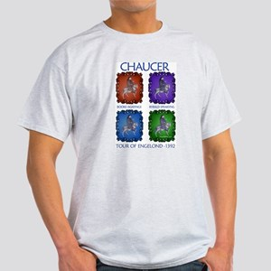 Chaucer 1392 England Tour Ash Grey T-Shirt