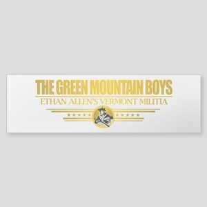 """The Green Mountain Boys"" Sticker (Bumper)"