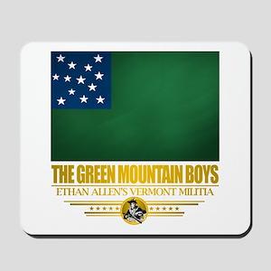 """""""The Green Mountain Boys"""" Mousepad"""
