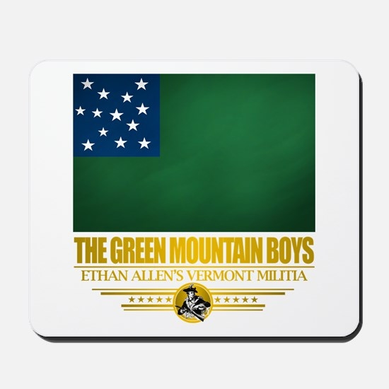 """The Green Mountain Boys"" Mousepad"
