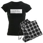 Rock Dots Women's Dark Pajamas