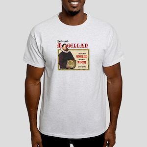 Magellan World Tour Ash Grey T-Shirt