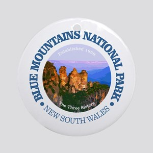 Blue Mountains NP Round Ornament