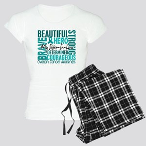 Tribute Square Ovarian Cancer Women's Light Pajama