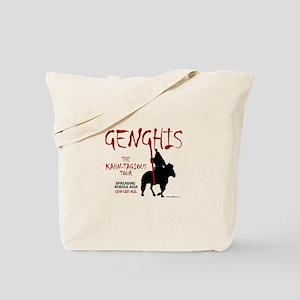 Genghis 'Kahn-tagious Tour' Tote Bag