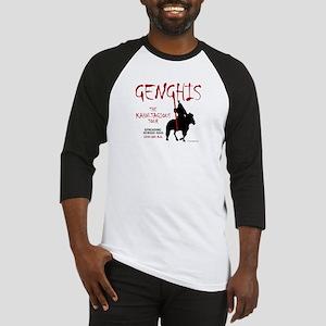 Genghis 'Kahn-tagious Tour' Baseball Jersey