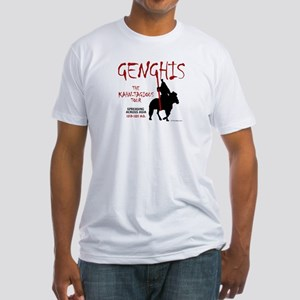 Genghis 'Kahn-tagious Tour' Fitted T-Shirt