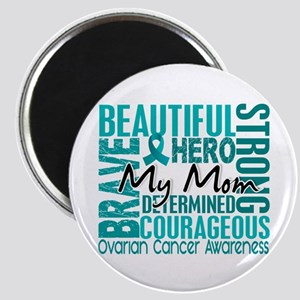 Tribute Square Ovarian Cancer Magnet