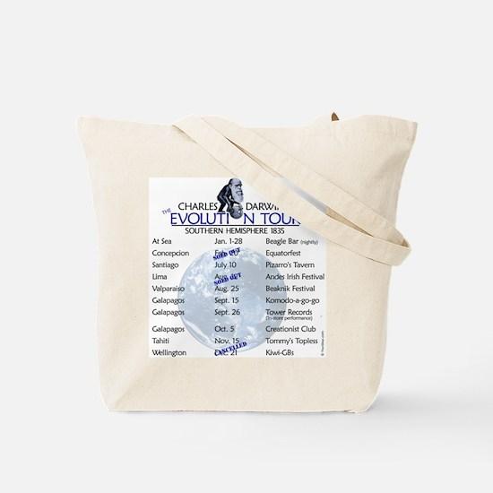 Darwin Evolution Tour Tote Bag
