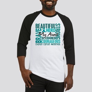 Tribute Square Ovarian Cancer Baseball Jersey