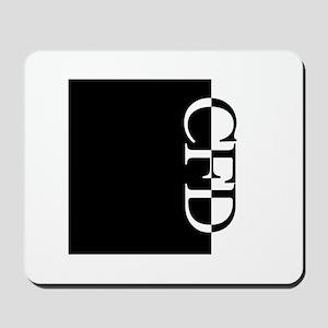 CFD Typography Mousepad