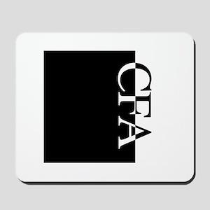 CFA Typography Mousepad