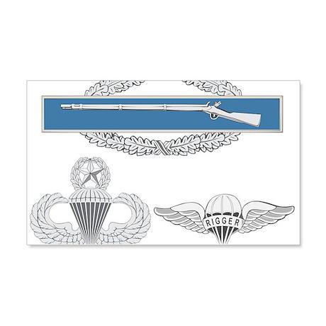 CIB Master Airborne Rigger 22x14 Wall Peel