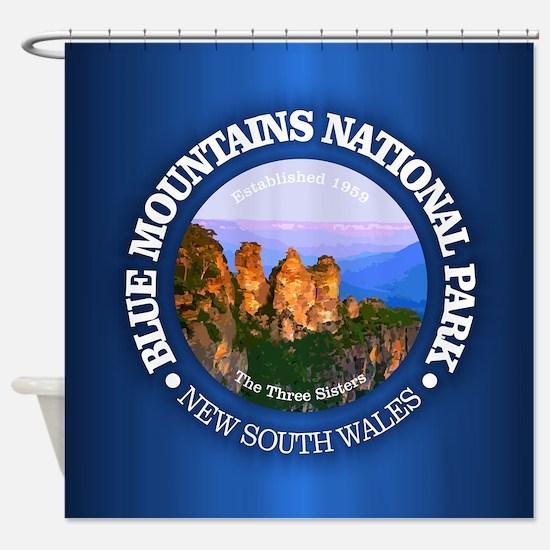 Blue Mountains NP Shower Curtain