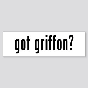 GOT GRIFFON Sticker (Bumper)