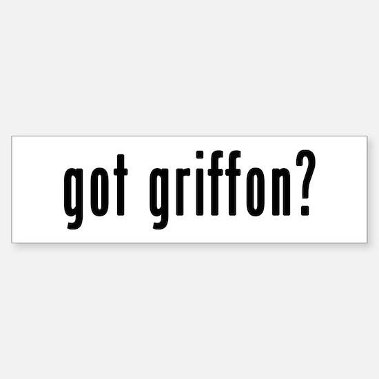 GOT GRIFFON Sticker (Bumper)