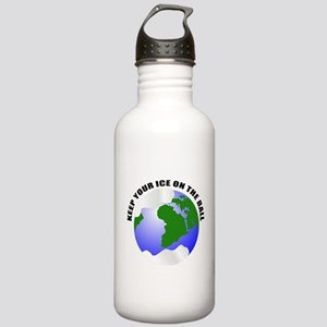 Keep your ice on the ball Stainless Water Bottle 1