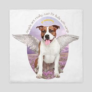 Pit Bull Angel Queen Duvet