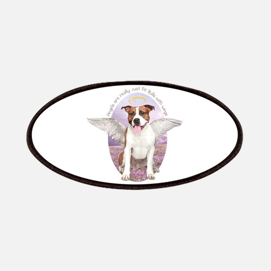 Pit Bull Angel Patches