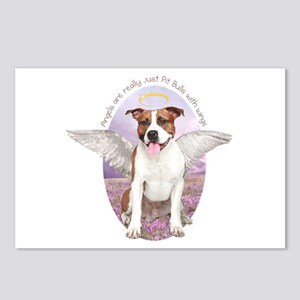 Pit Bull Angel Postcards (Package of 8)