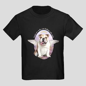 Bulldog Angel Kids Dark T-Shirt