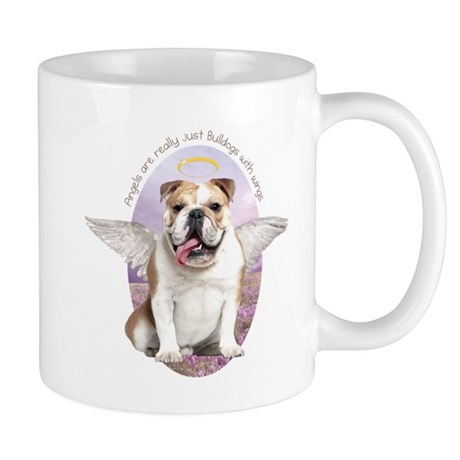 Bulldog Angel Mug