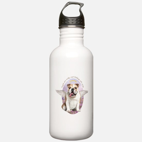 Bulldog Angel Water Bottle