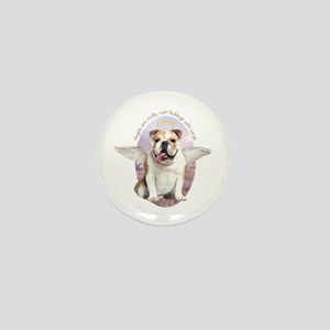 Bulldog Angel Mini Button