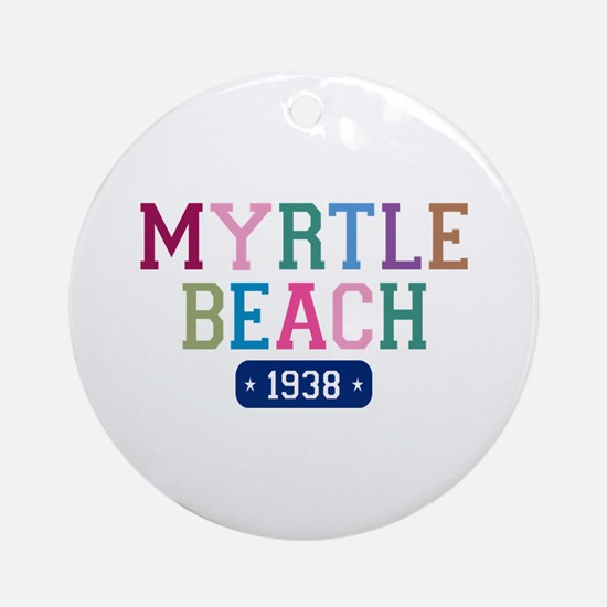 Myrtle Beach 1938 Ornament (Round)