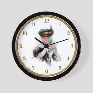 Harrison Fisher's Tea Time Wall Clock