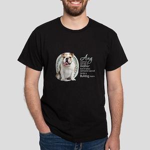 Bulldog Mom Dark T-Shirt