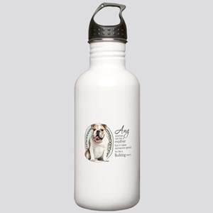 Bulldog Mom Stainless Water Bottle 1.0L