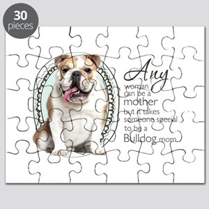 Bulldog Mom Puzzle
