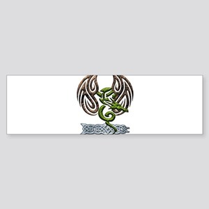 Green Dragon Sticker (Bumper)