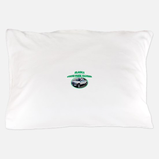 Alaska State Park Ranger Pillow Case