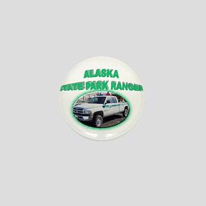 Alaska State Park Ranger Mini Button