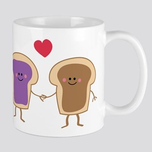 Peanut Butter Loves Jelly Mug
