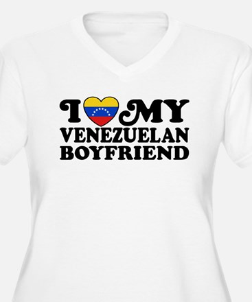 I Love My Venezuelan Boyfriend T-Shirt
