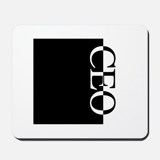 CEO Typography Mousepad