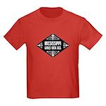 Mississippi Girls Kick Ass Kids Dark T-Shirt